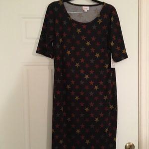 LuLaRoe Julia Dress, XL, New w/tags